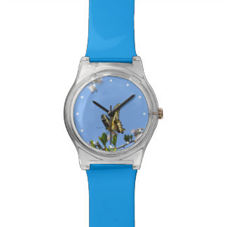 Giant Swallowtail Butterfly Wrist Watches