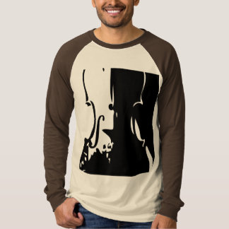 Giant Violin LS Raglan T-shirt