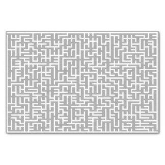 Giant White Maze Tissue Paper