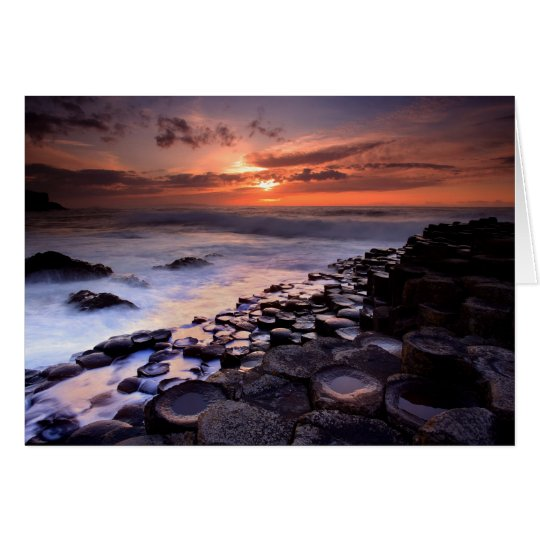 Giant's Causeway Card