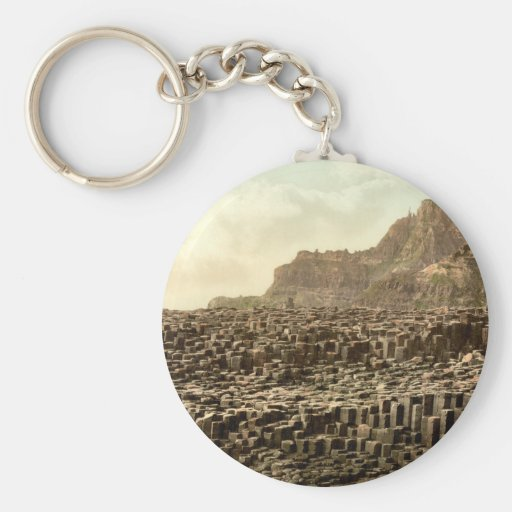 Giant's Causeway, County Antrim, Northern Ireland Key Chain