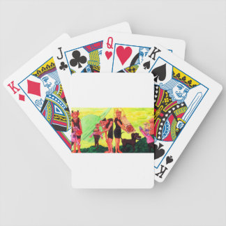 Giants on Triton Bicycle Playing Cards
