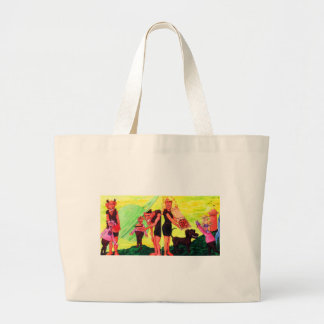 Giants on Triton Large Tote Bag
