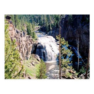 Gibbon Falls Postcard
