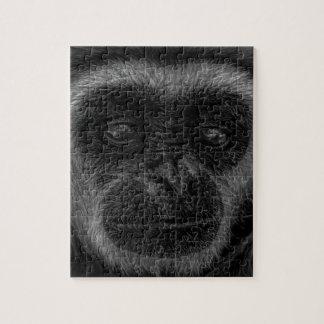 Gibbon wildlife indonesia mammal jigsaw puzzle