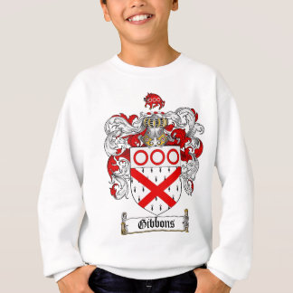 GIBBONS FAMILY CREST -  GIBBONS COAT OF ARMS SWEATSHIRT