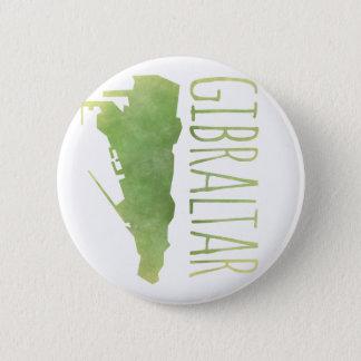 Gibraltar 6 Cm Round Badge