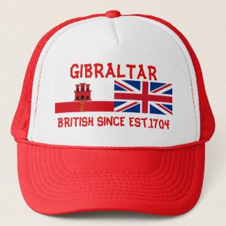 Gibraltar British Since Est.1704 Truckers Hat