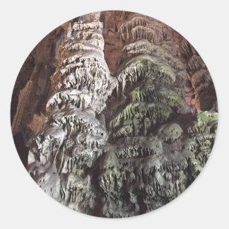 Gibraltar Caves Classic Round Sticker