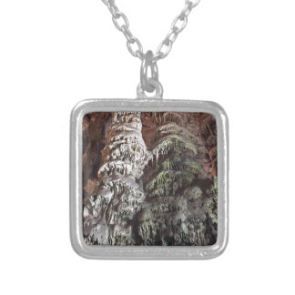 Gibraltar Caves Silver Plated Necklace