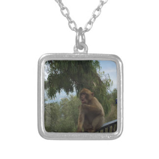Gibraltar Caves St Michael's Cave Silver Plated Necklace