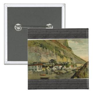 Gibraltar Citslan Bay Vintage Pins