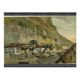 Gibraltar Citslan Bay, Vintage Postcard