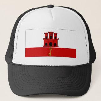 Gibraltar City Flag Trucker Hat