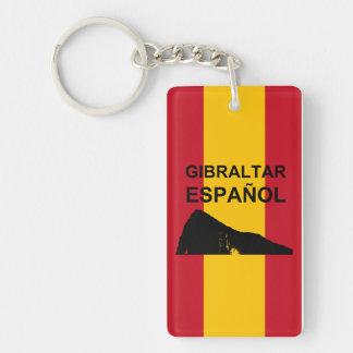 Gibraltar Español Key Ring