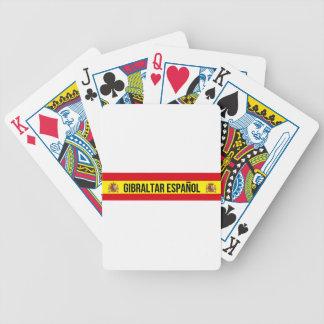 Gibraltar Español - Spanish Gibraltar Bicycle Playing Cards