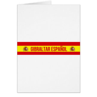 Gibraltar Español - Spanish Gibraltar Card