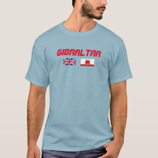 Gibraltar Flag Custom Shirt