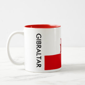 Gibraltar Flag Mug