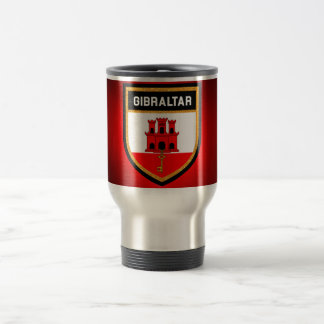 Gibraltar Flag Travel Mug