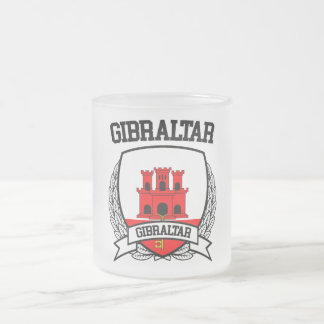 Gibraltar Frosted Glass Coffee Mug