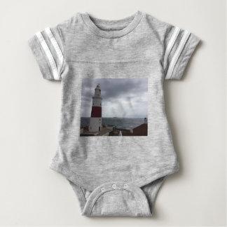Gibraltar Lighthouse Baby Bodysuit