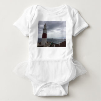 Gibraltar Lighthouse Baby Bodysuit