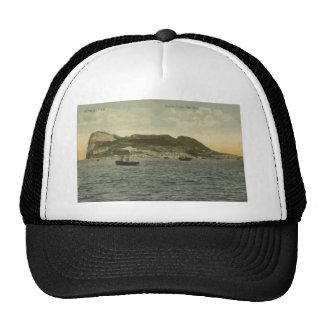 Gibraltar Rock From The Bay, Vintage Hat