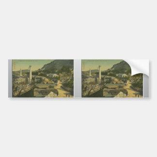 Gibraltar - , Vintage Bumper Sticker