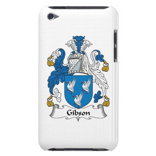 Gibson Family Crest iPod Touch Case