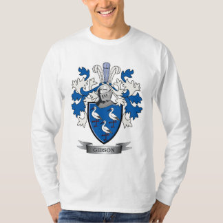 Gibson Family Crest Coat of Arms T-Shirt