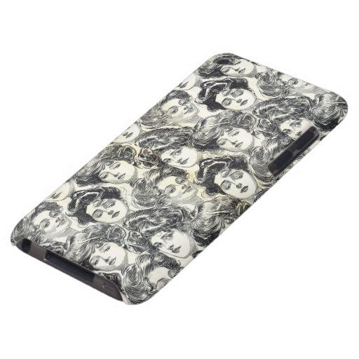 Gibson Girls by Charles Dana Gibson Circa 1902 Barely There iPod Cases