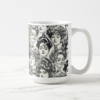 Gibson Girls by Charles Dana Gibson Circa 1902 Coffee Mug