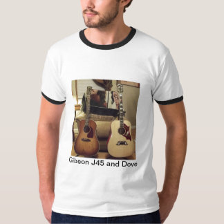Gibson J45 and Gibson Dove T-Shirt