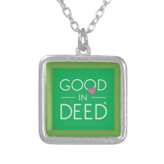 GID - Necklace with Logo, Sterling Silver-Plated