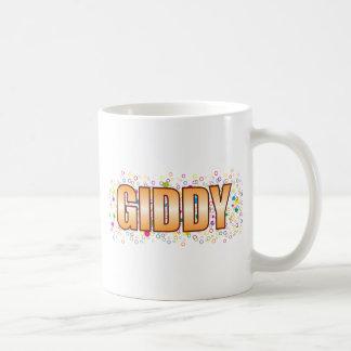 Giddy Bubble Tag Basic White Mug