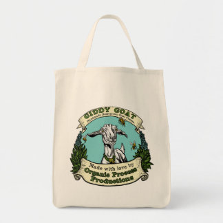 Giddy Goat Tote Bag