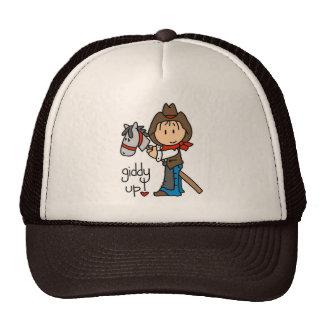 Giddy Up Cowboy T shirts and Gifts Cap