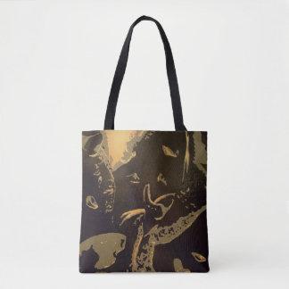 """""""Gideon"""" All-Over-Print Tote Bag"""