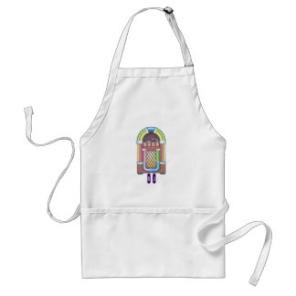 Gift Apron Retro Jukebox DJ Keys Custom Vintage