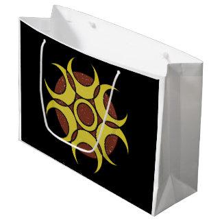 Gift Bag - Large GRUNGE CIRCLE LOGO