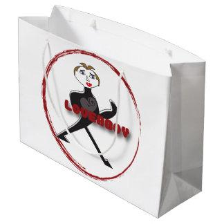 Gift Bag - Large LOVERBOY CIRCLE LOGO Large Gift Bag