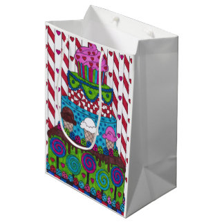 Gift Bag - Lollipop Cake