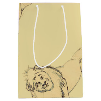 Gift Bag-Sketches7-Lion Medium Gift Bag