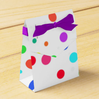Gift Bag with Spots Favour Box