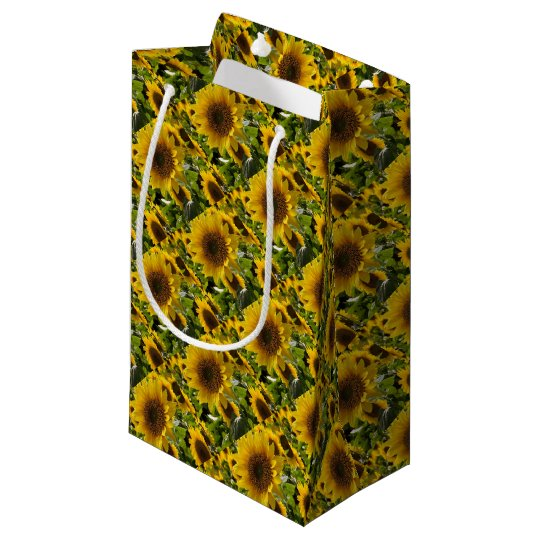 Gift Bags Sunflowers