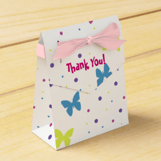 Gift Box - Butterfly Party Favour Boxes