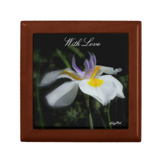 Gift Box Wild Iris With Love