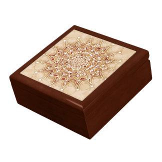 Gift Box with Beautiful Mandala Design