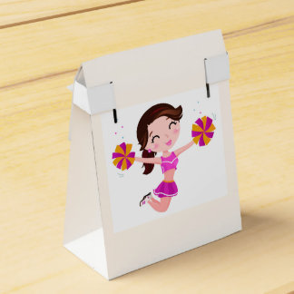 Gift box with School girl Party Favour Box